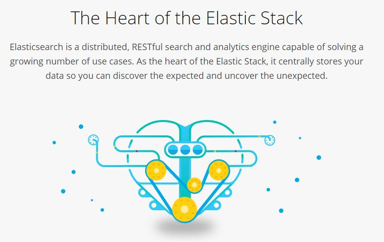 Google site search alternative-elastic search