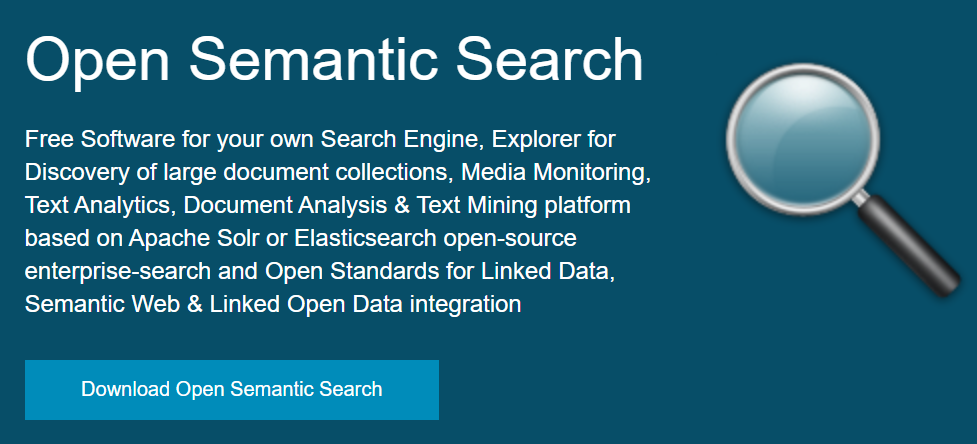 Google site search alternatives-open semantic search