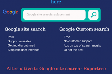 Google site search replacement