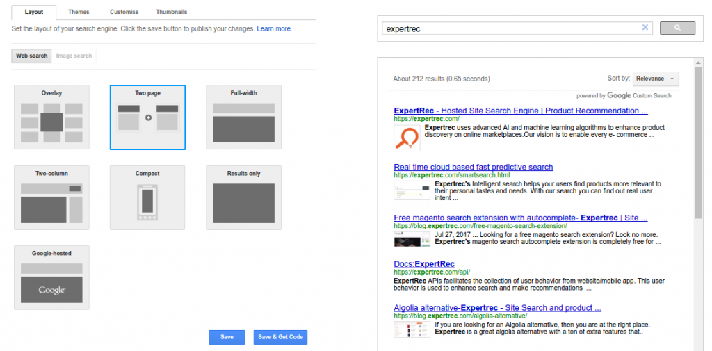 how to get google to search your website