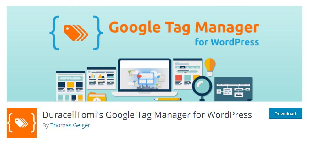 add google tag manager to wordpress