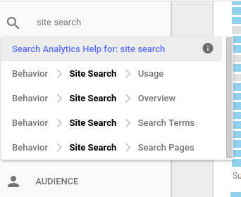 wordpress search queries google analytics