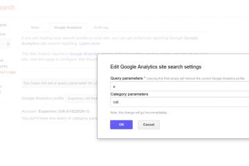 google custom search google analytics