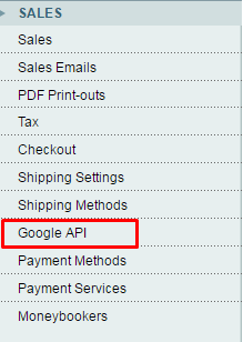 add Google analytics to magento
