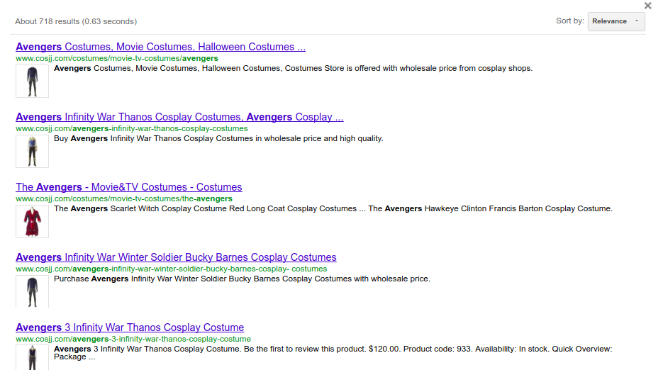 magento google custom search