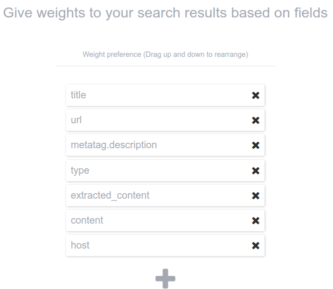 wordpress search settings