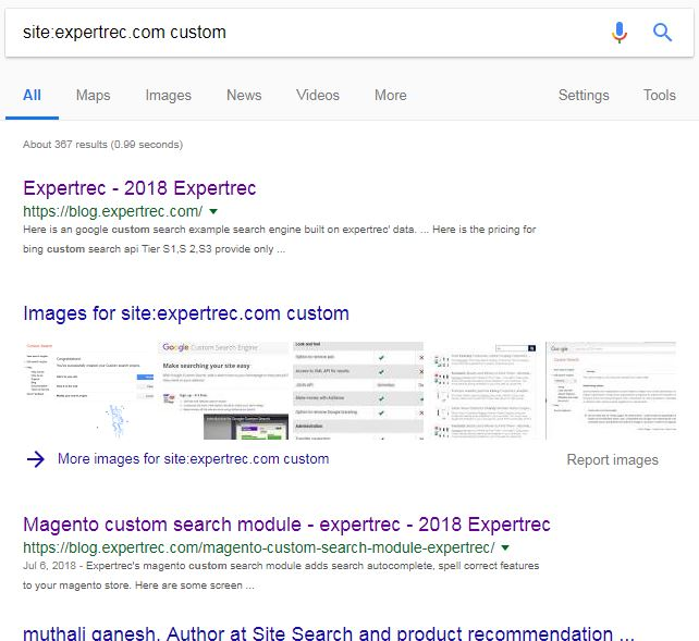SOLVED] | Google custom search operators- The complete list