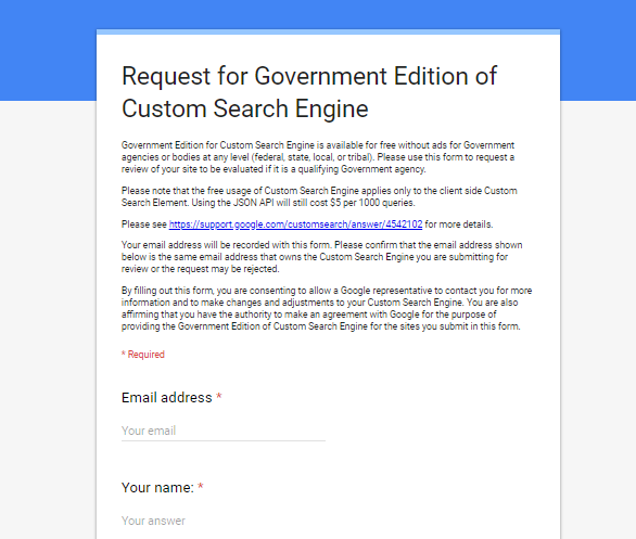 google for government agencies
