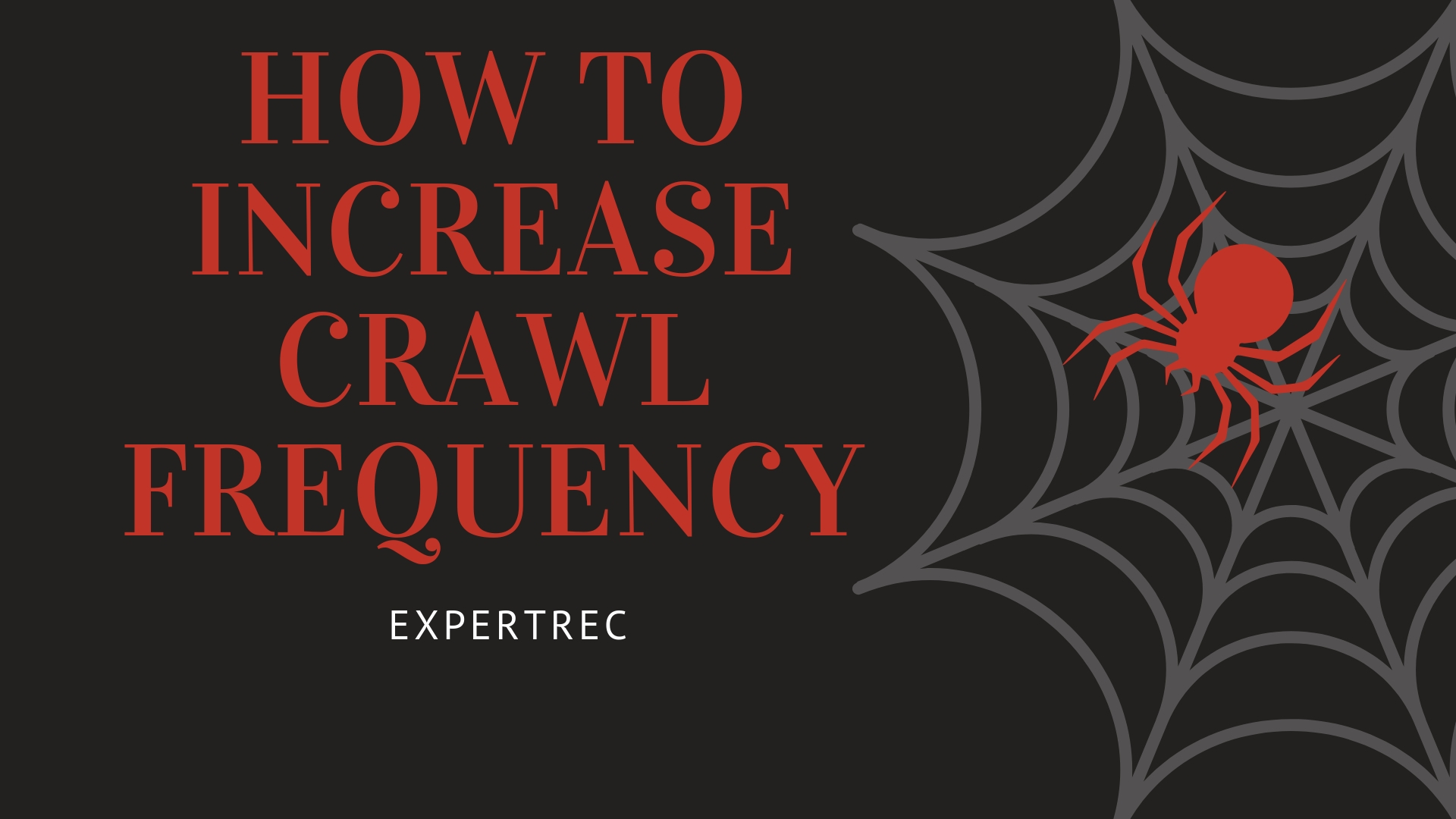 How to increase search crawl frequency