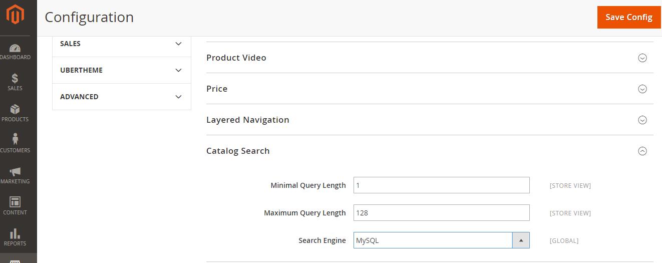 Magento 2 Custom Catalog Search