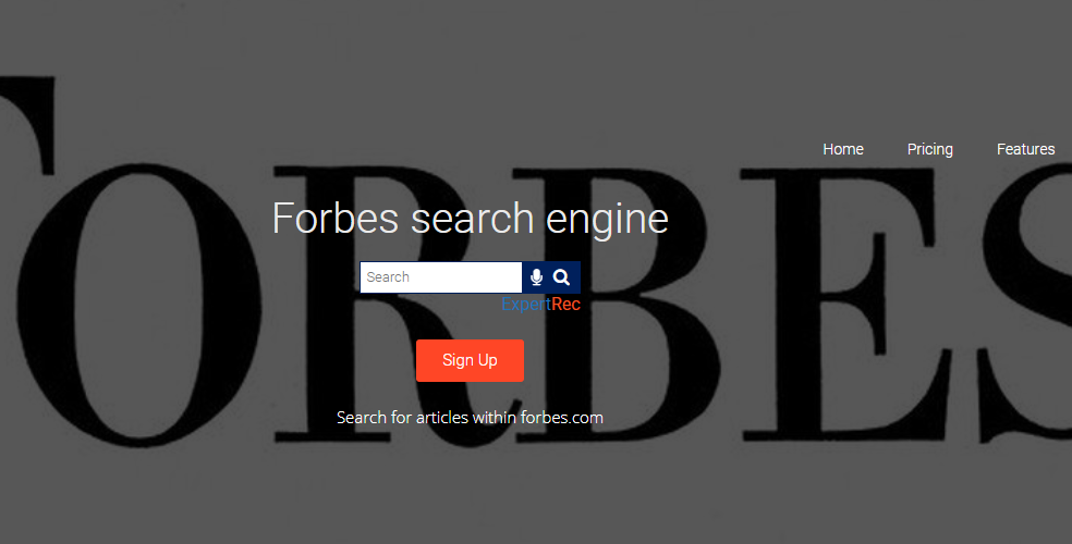 Where to position the site search box in your website