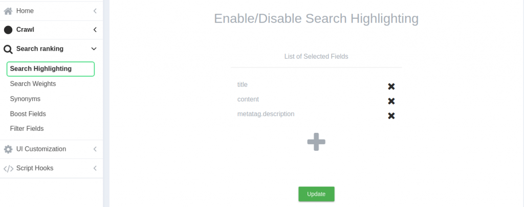 expertrec search highlighting