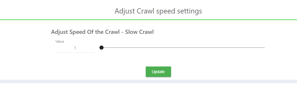 How to increase search crawler speed in expertrec