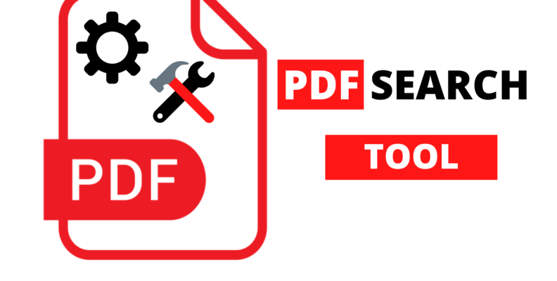 How to create and use a PDF search tool