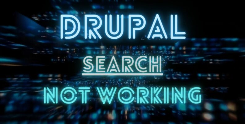 Drupal site search not working- How to fix?