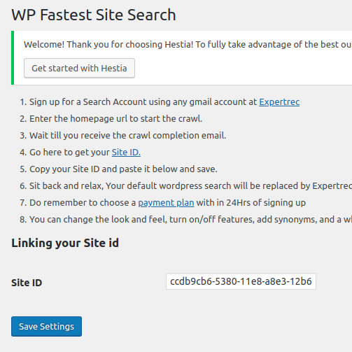 Custom search form wordpress plugin