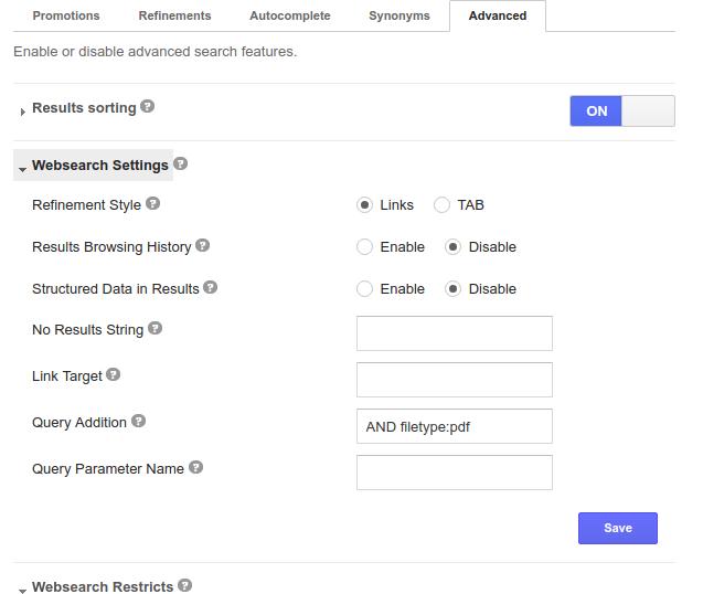 google PDF search