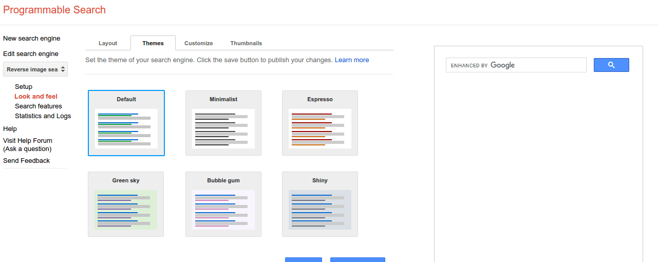 javascript search box for website