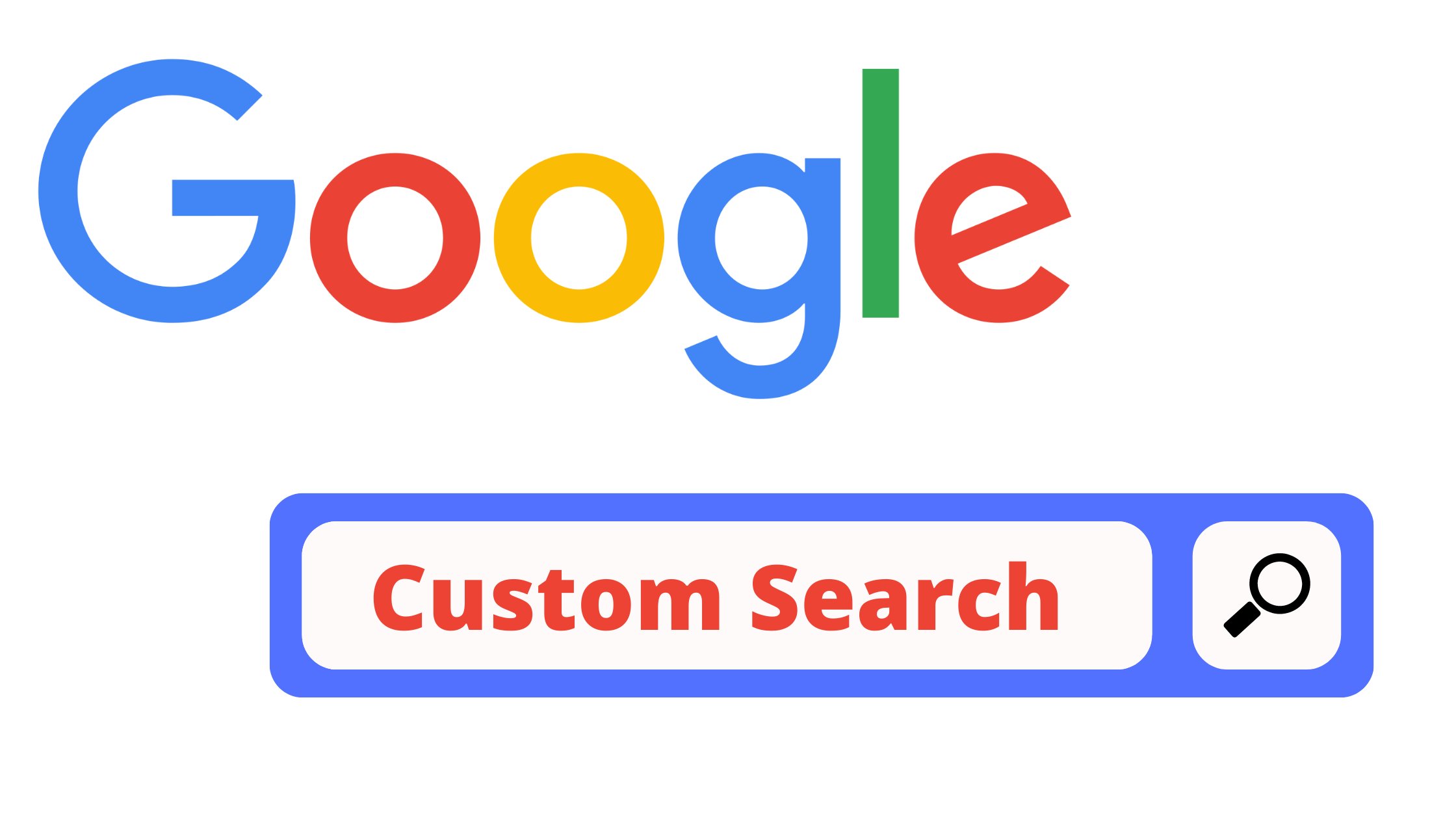 Google custom search for all web