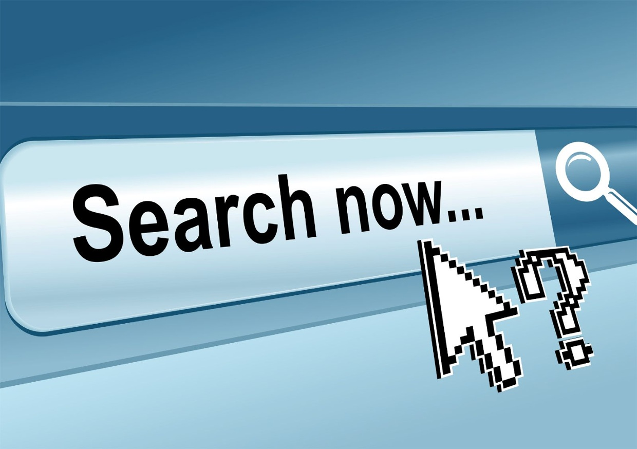 how to implement search in website