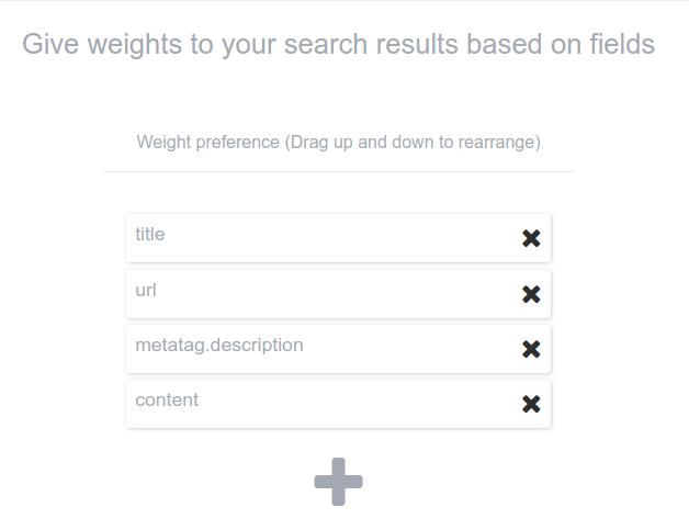 Custom search wordpress plugin