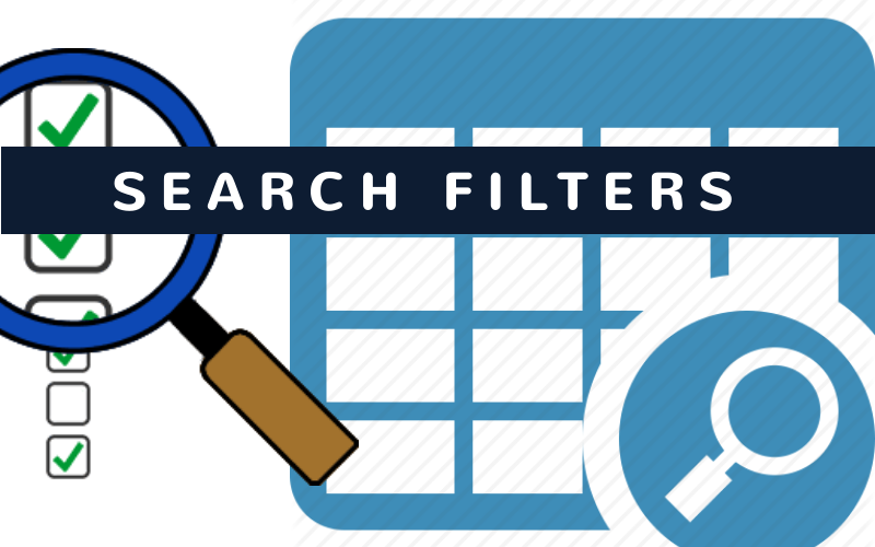 What are search filters?