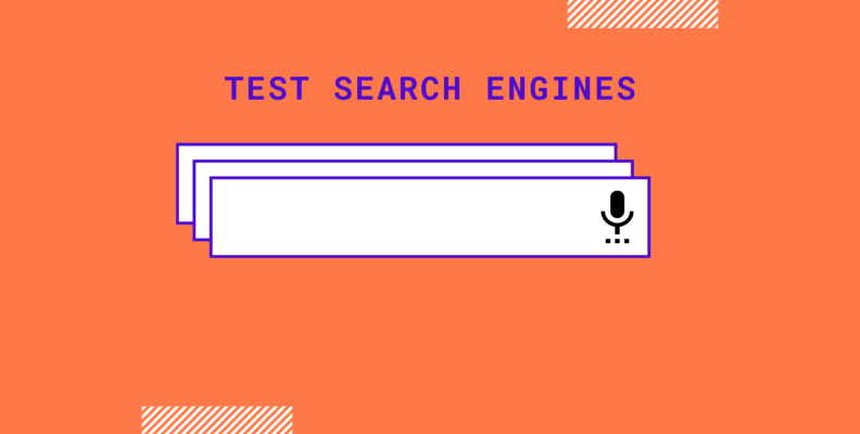 test search engines