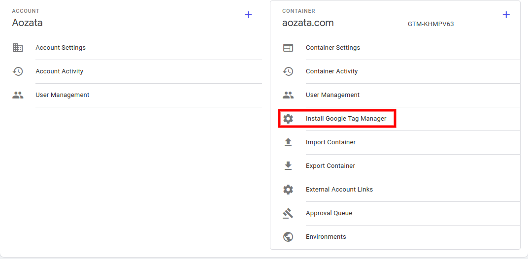 add google tag manager to shopify