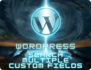 Wordpress Search Multiple Custom Fields Plugin