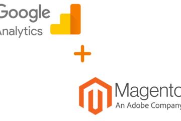 add google analytics magento store ecommerce tracking