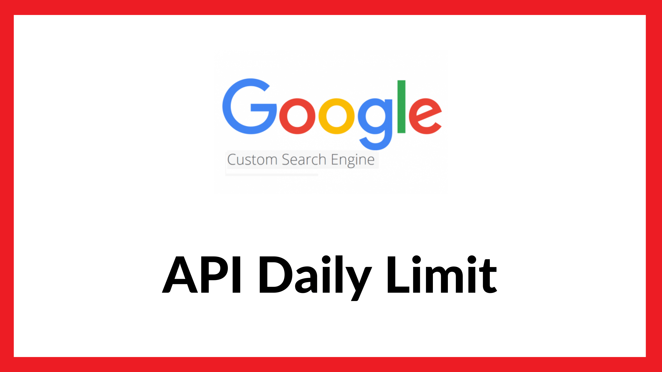 Google Custom Search api daily limit