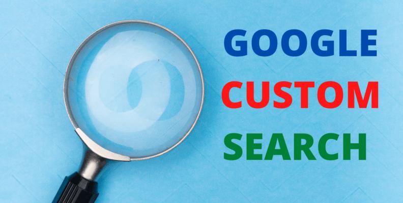 Google Custom Search Bar HTML