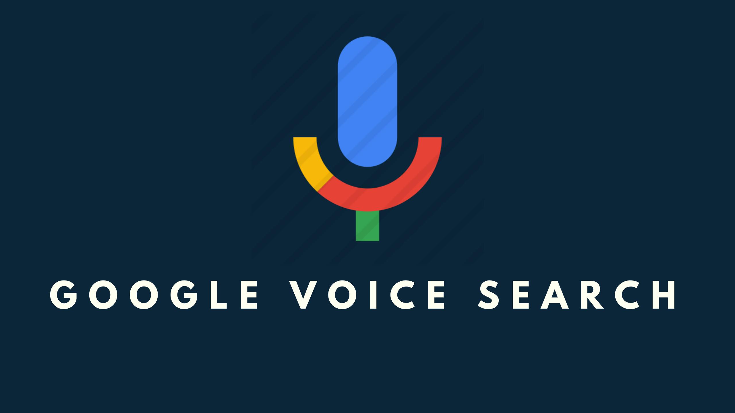 google voice search in windows 10