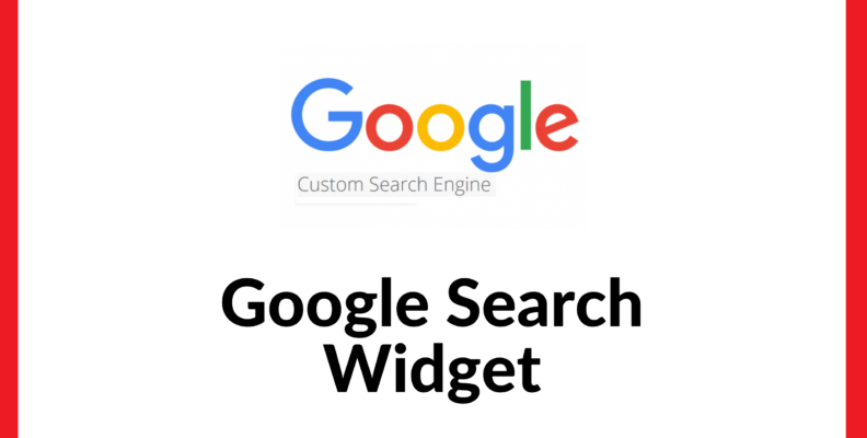 Google Search Widget for Website