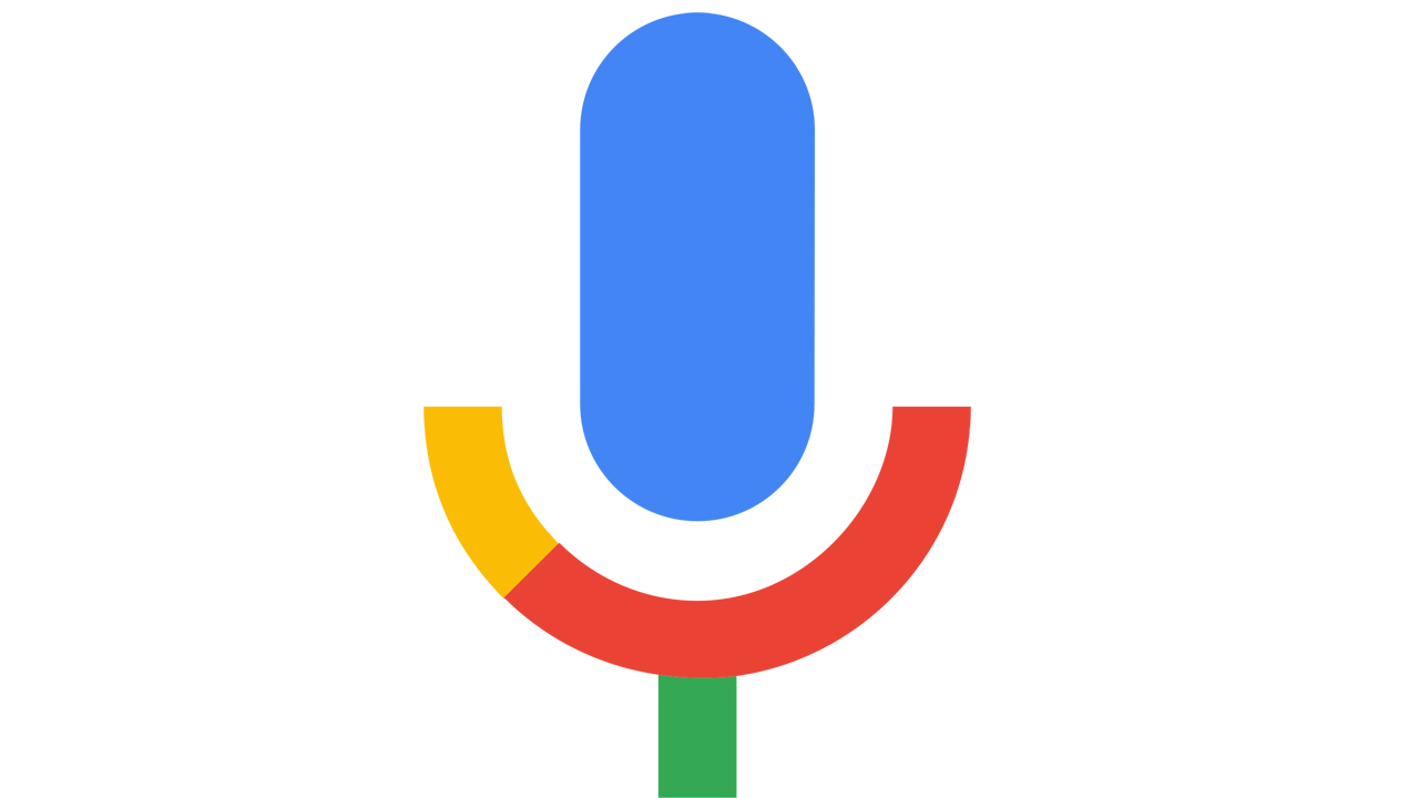google voice search icon missing