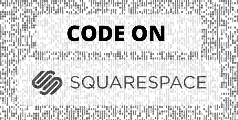 How to add code to squarespace website – Easy steps