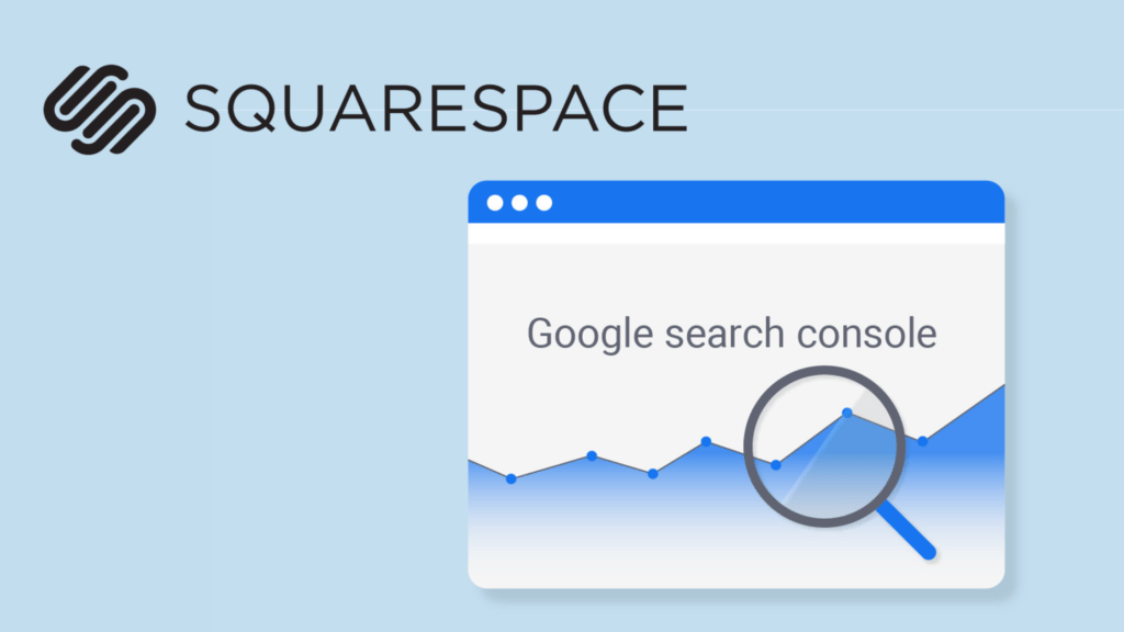 How to add squarespace site to google search console