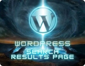 Wordpress Search Results Page