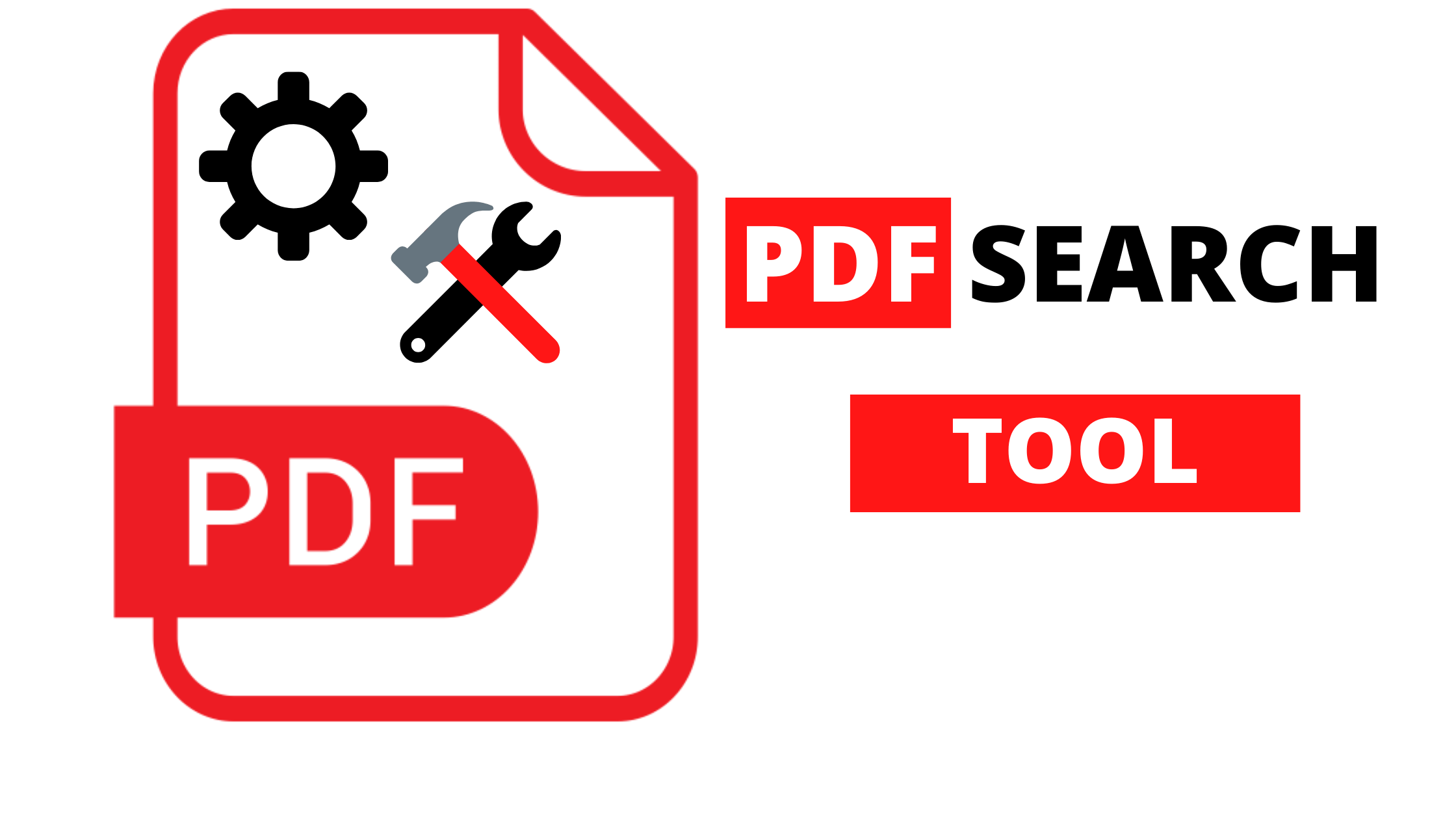 PDF SEARCH ENGINE - CREATE YOUR OWN