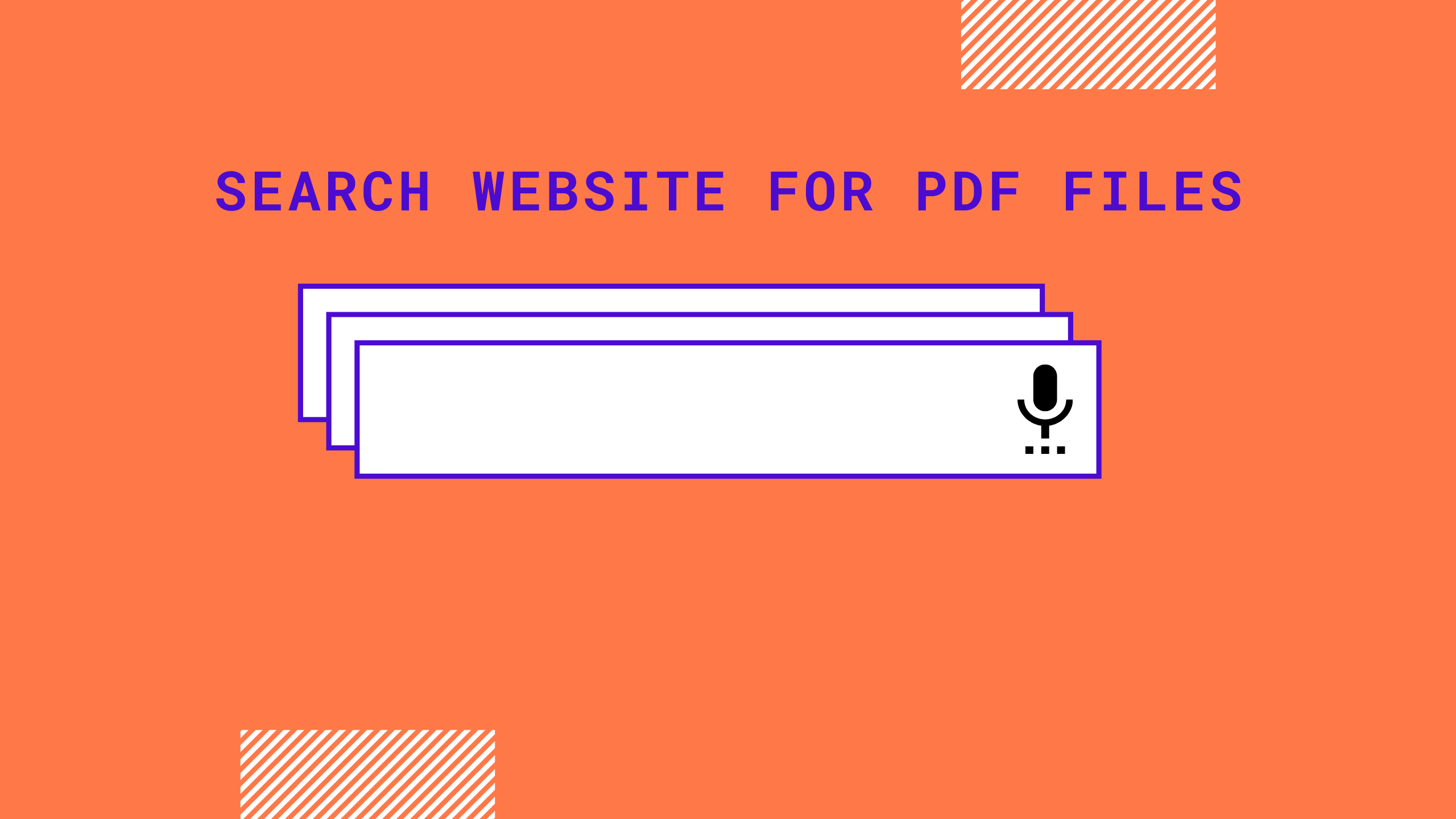 Search website for PDF files