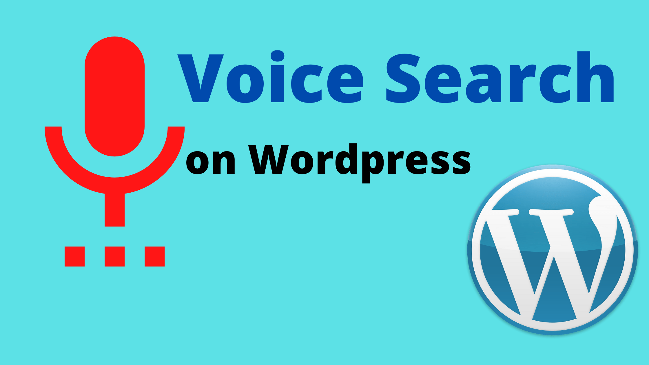 Wordpress add search widget to page
