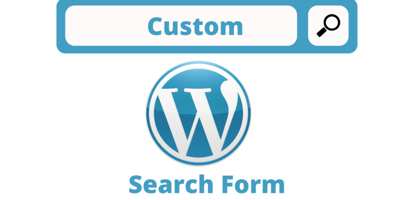 Wordpress Add Search Form to Page