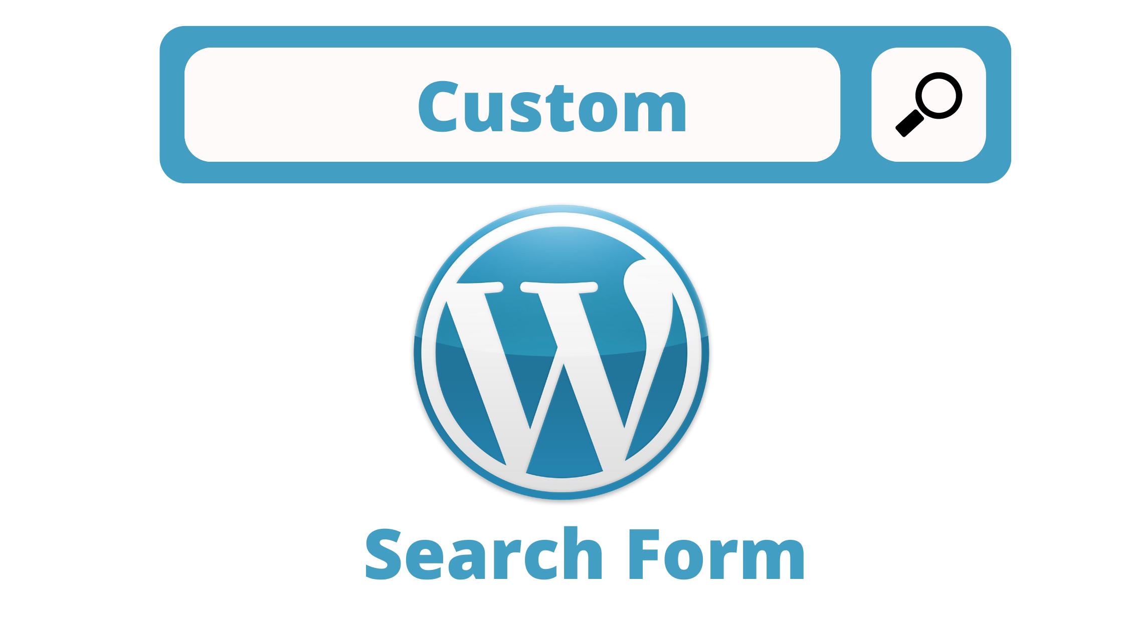 Wordpress Plugin Advanced Search Custom Fields