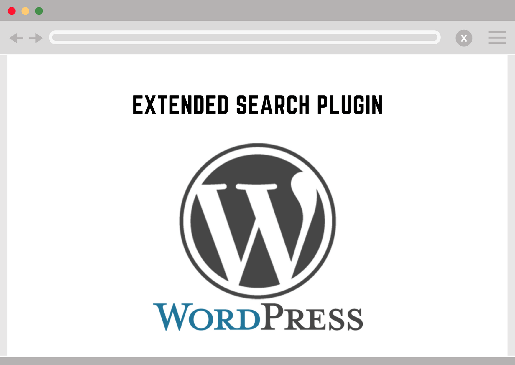 Wordpress Extended Search Plugin