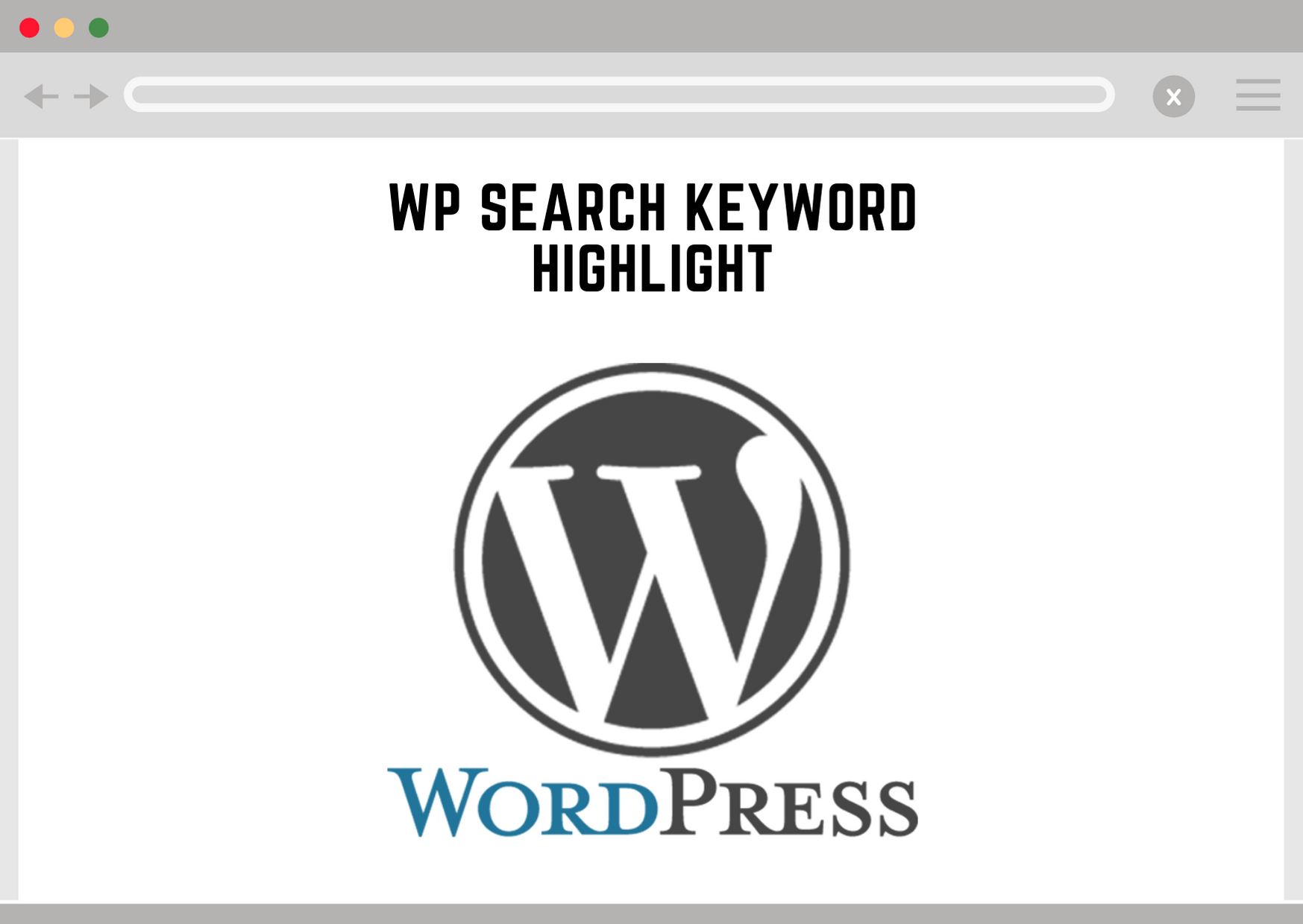 Wordpress Search Keyword Highlight
