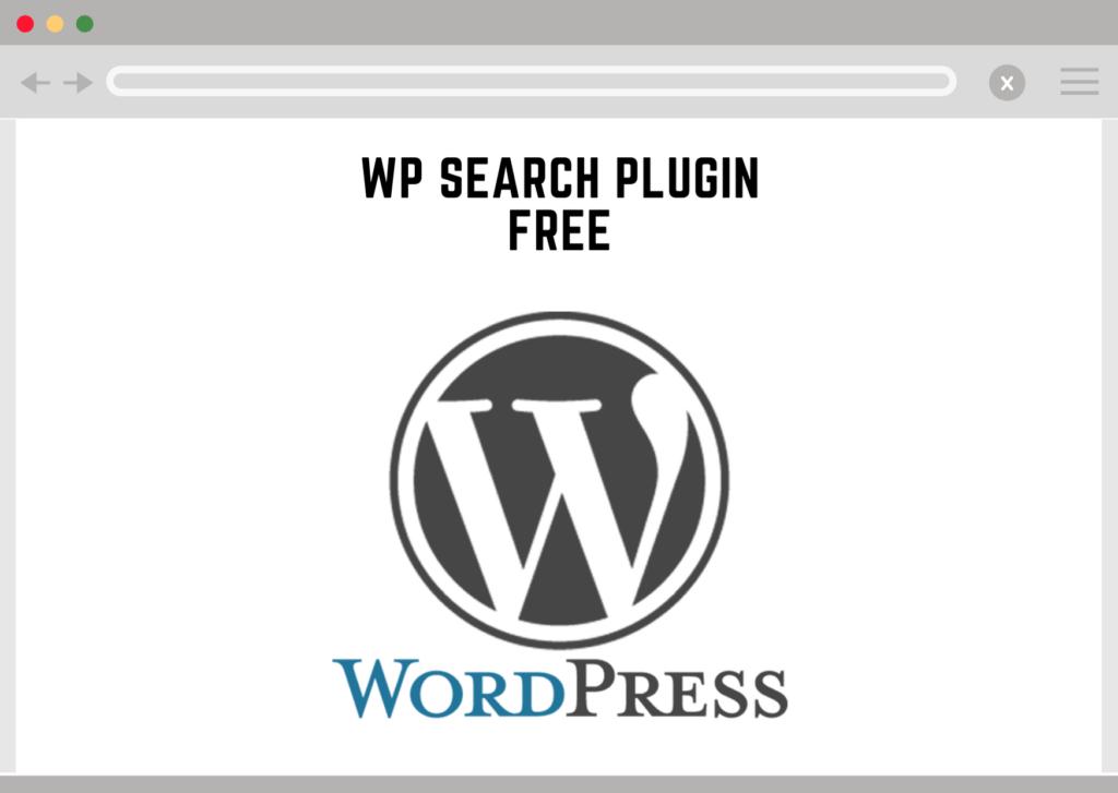 Wordpress Search Plugin Free