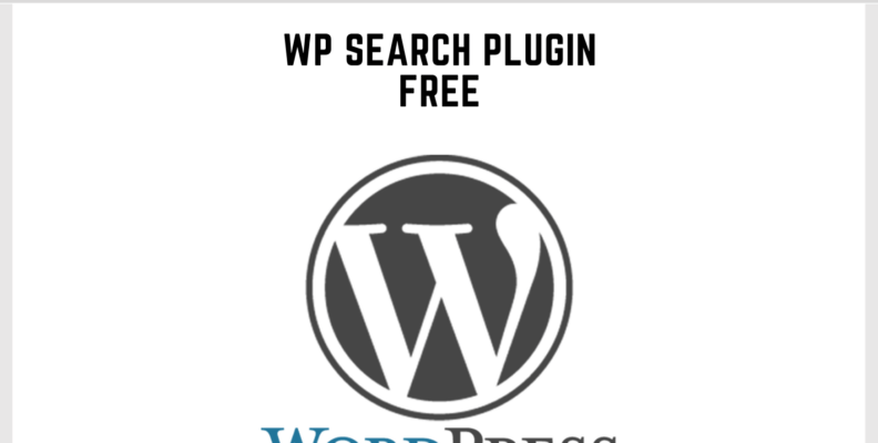 Wordpress Search Plugin Free