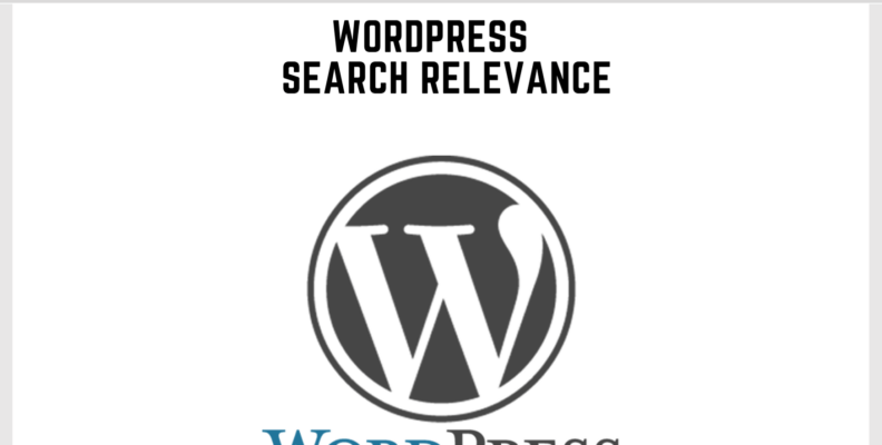 Wordpress Search Relevance
