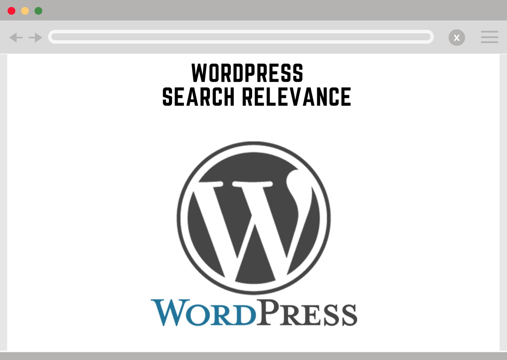 Wordpress Search Relevance
