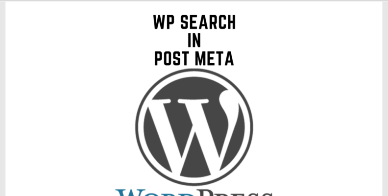 Wordpress Search in Post Meta